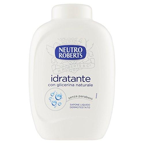 Neutro Roberts – Jabón líquido, extra hidratante, con glicerina natural, hidratación activa, 300 ml