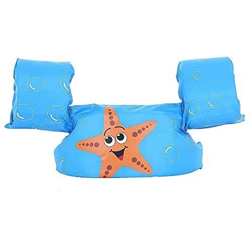Ruiuzi Ruizi Schwimmarmbänder Schwimmweste Schwimmweste Schwimmweste Zubehör für Kinder zum Schwimmen Lernen (Starfish)
