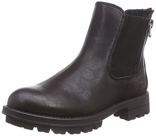 Marco Tozzi 25453 Damen Chelsea Boots Schwarz (Black Antic 002)