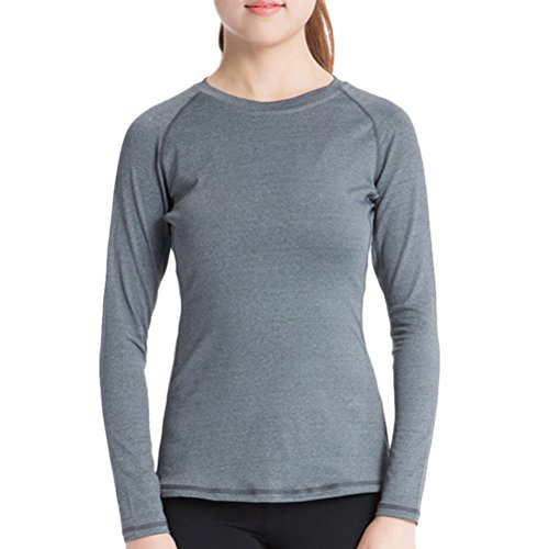 Zhhlaixing Sports Women's Long Sleeve Quick Dry Slim Fit Pro Training Top 2039