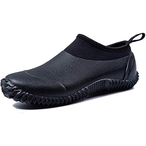 Women Men Rain Shoes Boots Neoprene Waterproof Short Wellington Wellies Rubber Outdoor Walking Shoes Lightweight Beach Aqua Sneaker