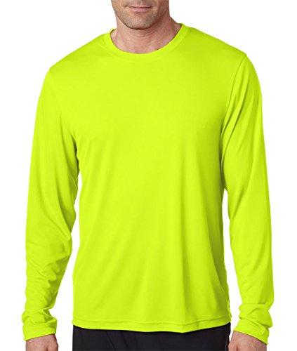 Hanes Herren T-Shirt Grün - Grün (Safety Green)