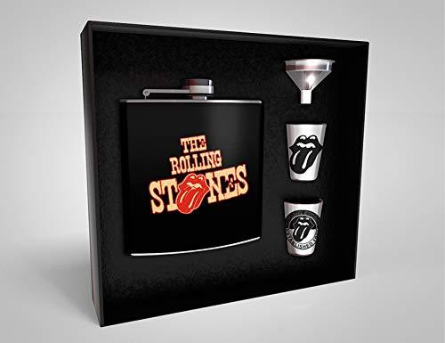 Assassin\'s Creed Z888975 The Rolling Stones Flachmann Geschenkbox Tongue, Mehrfarbig
