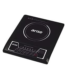 Arise Aura-Push Button Induction Cooktop, Black
