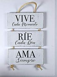 Cuadro de Madera. Mensajes Positivos e Inspiradores para, regalar, compartir y disfrutar. Ideas y consejos par