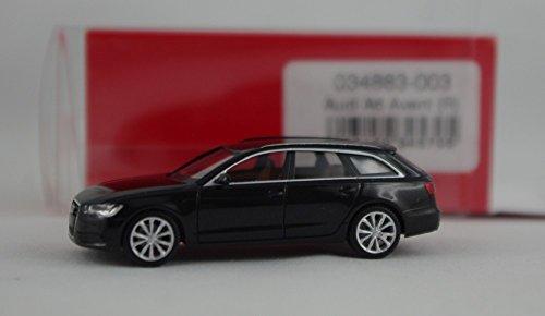 Preisvergleich Produktbild Herpa 034883-003 - Audi A6 Avant schwarz met
