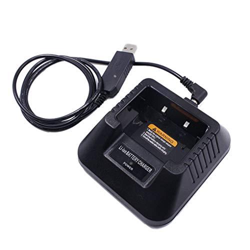 Morza USB-Ladegerät Ersatz für Baofeng UV-5R UV-5RE DM-5R Portable Two Way Radio Walkie Talkie