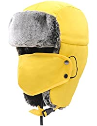 MHGAO Ear Cappellino Invernale Ispessimento Caldo Antivento Esterna Unisex Cappello  Ushanka 4244a4385ee3