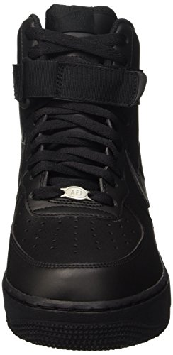Nike Air Force 1 High '07, Baskets Homme Noir (Black/Black/Black)