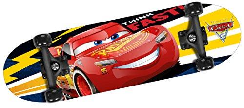 """Cars Jungen C893310 Skateboard, ROT, 28\"""" x 8\"""""""