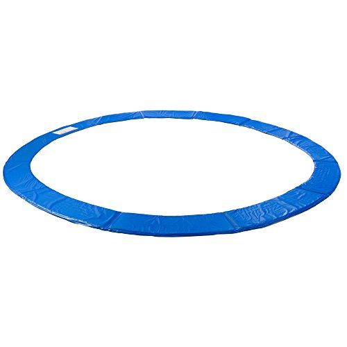 Arebos Trampolin Randabdeckung / 183, 244, 305, 366, 396, 457 oder 487 cm/blau (blau, 457 cm)
