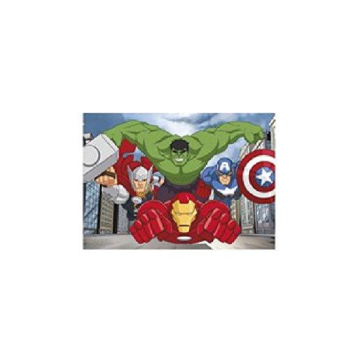 Kinderteppich Teppich Kinderteppich Kinder Teppich Spielteppich darf in keinem Kinderzimmer fehlen 95 x 133 cm Avengers Power