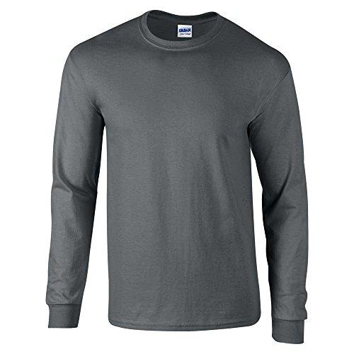GILDANHerren T-Shirt Grau - Dunkelgrau