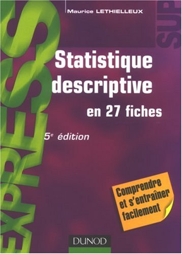 Statistique descriptive par Maurice Lethielleux