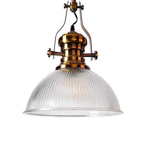 Über Moderne Anhänger Beleuchtung (Oevina Modern Klarglas Anhänger Beleuchtung für Kitchen Island, Kreative Hängelampe Esszimmer Leuchten für Küche Café Flur Beleuchtung-D: 30 cm (Color : D:38cm))