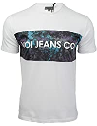 Voi Mens T-Shirt Jeans 'Levels' Short Sleeved