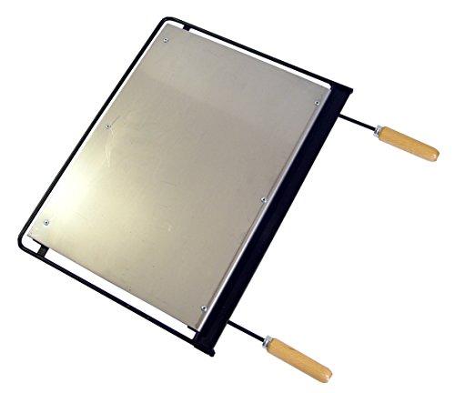 Imex El Zorro 71626   - Plancha para barbacoa, hierro, Gris, 60 x 41 cm