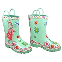 Lilybobtail wellies, girls wellies, Peter Rabbit, infant size 7, outdoor toddler gift, Free giftwrap