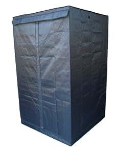 FoxHunter Quality Portable Grow Tent Green Room Bud Room 120cm x 120cm x 200cm for Gardening Hydroponic