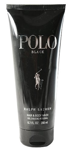 Ralph Lauren Polo Black homme / men, Duschgel 200 ml, 1er Pack (1 x 200 ml)