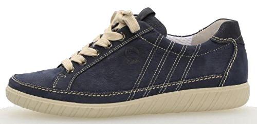 Gabor Damen Comfort Basic Derbys Blau (Navy/Ocean)