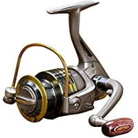 Ogquaton Carrete de Pesca Spray Paint Rocker Spinning Carrete Carrete de Pesca Equipo de Pesca Accesorios para Agua Dulce y Todas Las Temporadas 1 Piezas