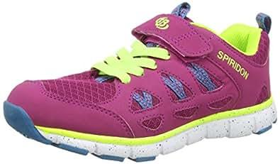Bruetting Spiridon Fit VS, Chaussures de Course Fille - Rose - Pink (Pink/Lemon/Türkis), 38
