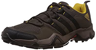 adidas Men's Ax2 Ii Brown and Yellow Multisport Training Shoes - 12 UK