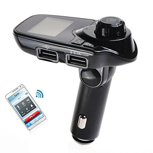 Internationaler Bluetooth FM Transmitter Auto-MP3-Player-Freisprecheinrichtung Car Kit Radio Stereo-Adapter im Auto Bluetooth Empfänger mit - Caraudio-empfänger