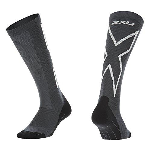 Performance Kompressions Socken (2x u Damen Kompression Performance X Socken, Damen, Titanium/White)