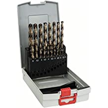 Bosch 2 608 587 014  - Juego de 19 brocas para metal ProBox HSS-Co, DIN 338 (aleación de cobalto) - 1-10 mm (pack de 19)