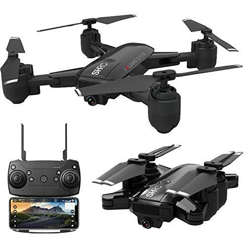 Drohne x Pro 5G Selfi WiFi FPV GPS mit Kamera 1080P HD Faltbarer RC Quadcopter (Schwarz)