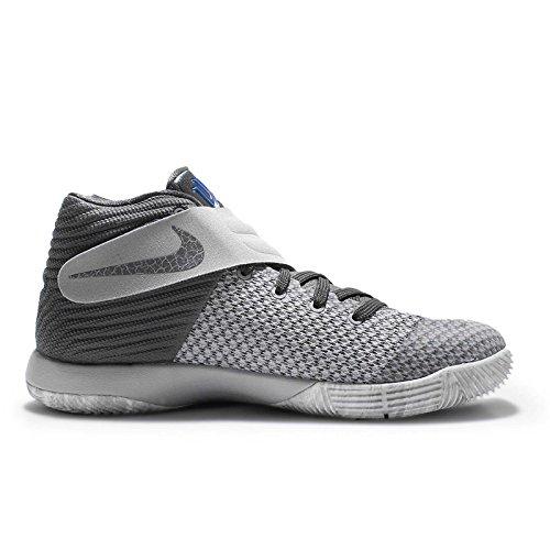 Nike Wlf Grey / Drk Gry-omg Bl-cl Gry, espadrilles de basket-ball garçon gris - Gris (Wlf Grey / Drk Gry-Omg Bl-Cl Gry)