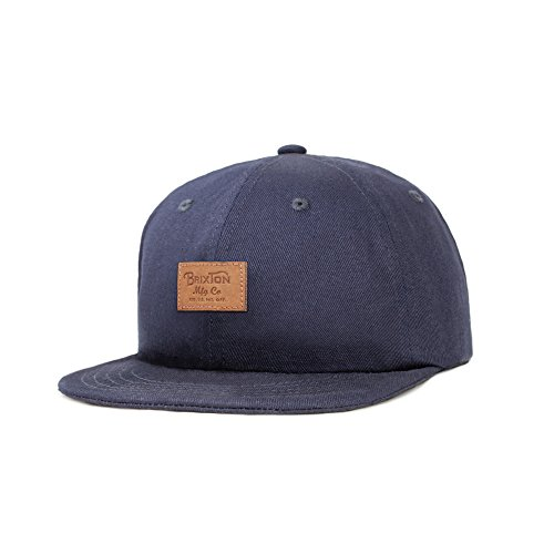 Crooner cap washed black Noir