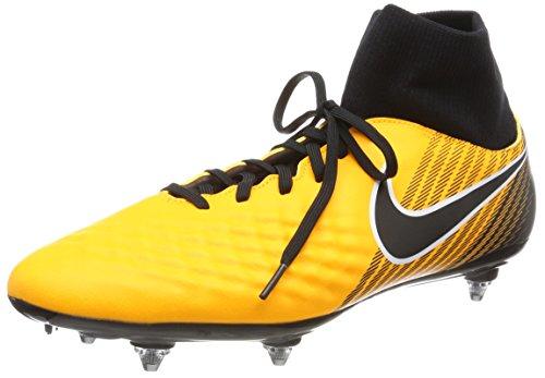 Nike Men's Magista Onda II Dynamic Fit Soft-Ground Football Boots, Orange (Laser Orange/Schwarz-Weiß-Volt-Weiß), 7.5 UK (42 EU)