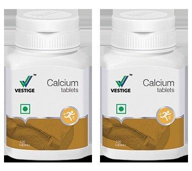 Vestige Calcium - 100 Tablet (Pack of 2)
