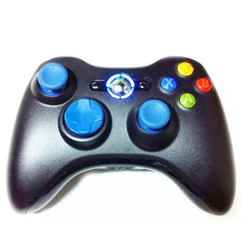 17 Mode Drop Shot, Quick Scope, Auto Aim, Dual Rapid Fire, Reprogrammable Xbox 360 Modded Rapid Fire Controller Mw3 Black Ops Mw 2,modded Blue Leds by Ceitems Tradings Inc