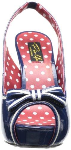 Pleaser - Bett05/Nbpt, Scarpe col tacco da donna Blu(Blue (Navy Blue))