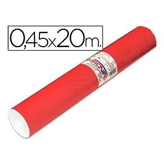 Roll Adhesive aironfix Unicolor Red Matte Clear 67151-rollo 20mt