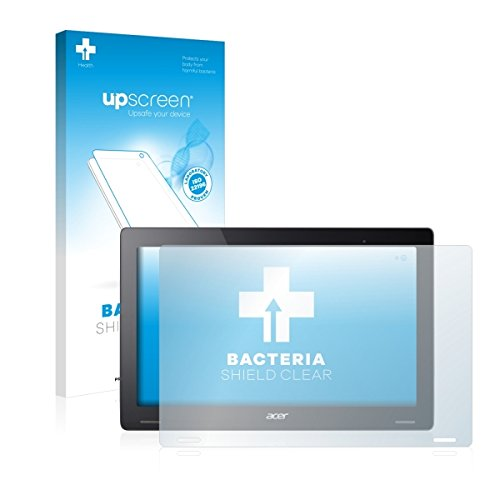 upscreen Bacteria Shield Clear Bildschirmschutz Schutzfolie für Acer Aspire Switch 12 S (antibakterieller Schutz, hochtransparent)