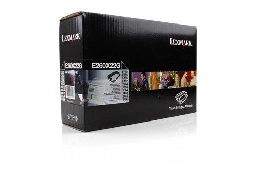 Preisvergleich Produktbild Original Bildtrommel passend für Lexmark X 264 DN Lexmark 00E260X22G , 0E260X22G , E260X22G - Premium Trommel - Farblos - 30.000 Seiten