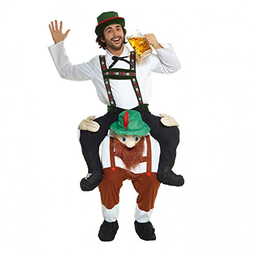 Unbekannt Neu Huckepack Tragen Witzig Kostüm Unisex - Bayerischer Bärtiger MannMit selbst füllen Beine (Männer Kostüme)