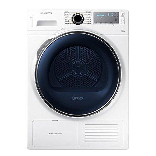 Samsung DV80H8100HW 8kg Freestanding Heat Pump Condenser Tumble Dryer White