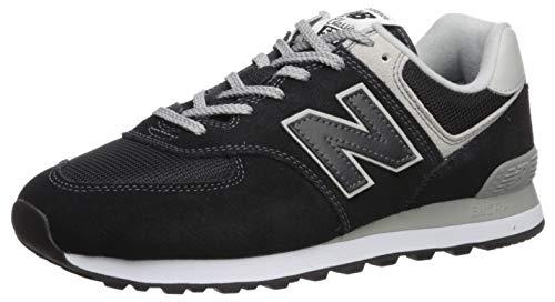 New Balance Herren 574v2 Core Sneaker, Schwarz (Black), 43 EU -