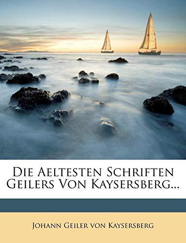 Die Aeltesten Schriften Geilers Von Kaysersberg, XXI. Artikel
