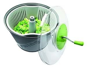Essoreuse swing XS professionnel. Pour 2 à 3 salades. 10 L. H Hors Tout 396 mm. Lg sup 373 mm.
