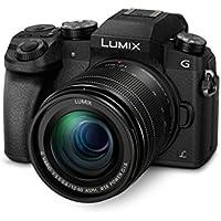 Panasonic LUMIX G DMC-G70MEG-K Systemkamera (16 Megapixel, OLED-Sucher, 7,5 cm OLED Touchscreen, 4K Foto und Video) mit Objektiv H-FS12060/F3,5-5,6/OIS schwarz