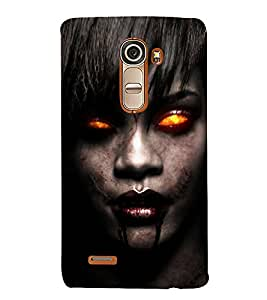 Scary Famous Hollywood Personality 3D Hard Polycarbonate Designer Back Case Cover for LG G4 Mini :: LG G4c :: LG G4c H525N