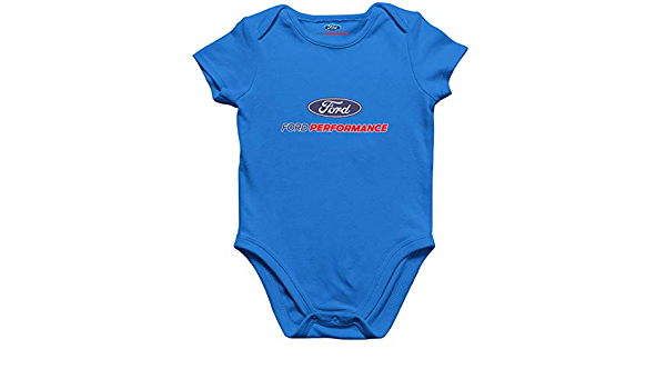 Ford Performance Offizielle Lizenz Blau Strampelanzug Strampler//Baby Body
