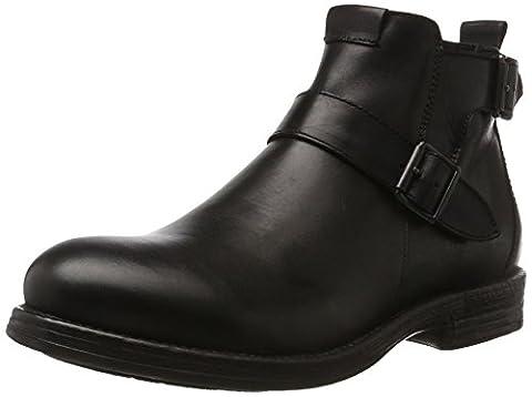 REPLAY Herren Hert Biker Boots, Schwarz (Black), 42 EU